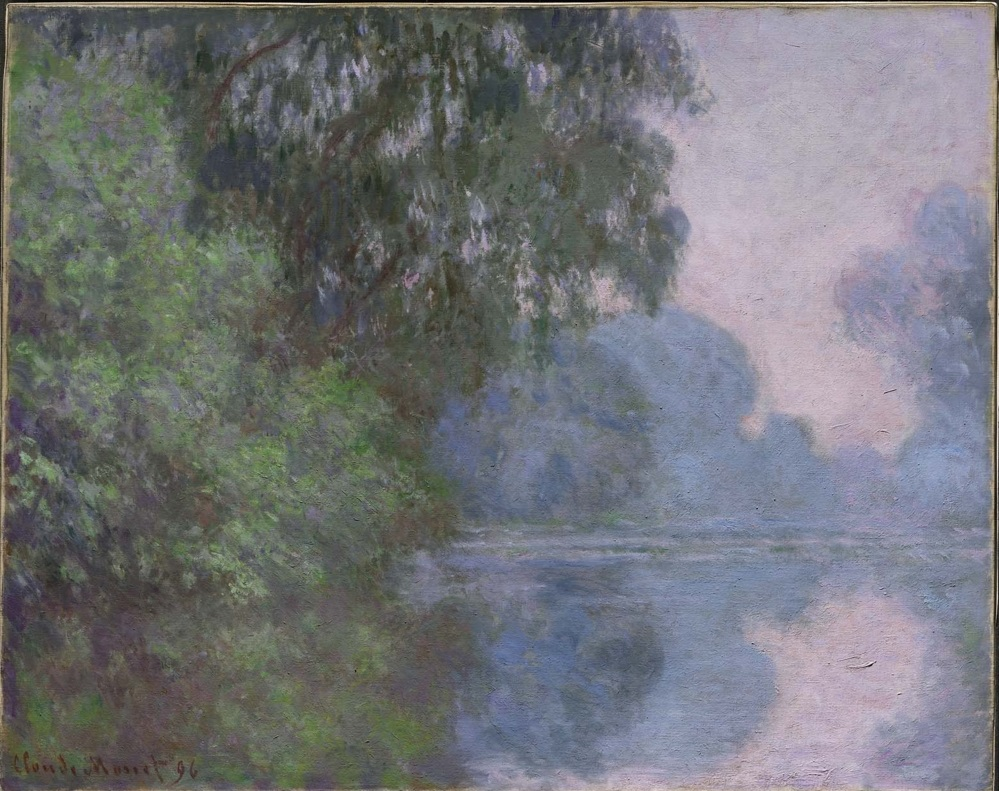 Morning on the Seine, near Giverny 1896