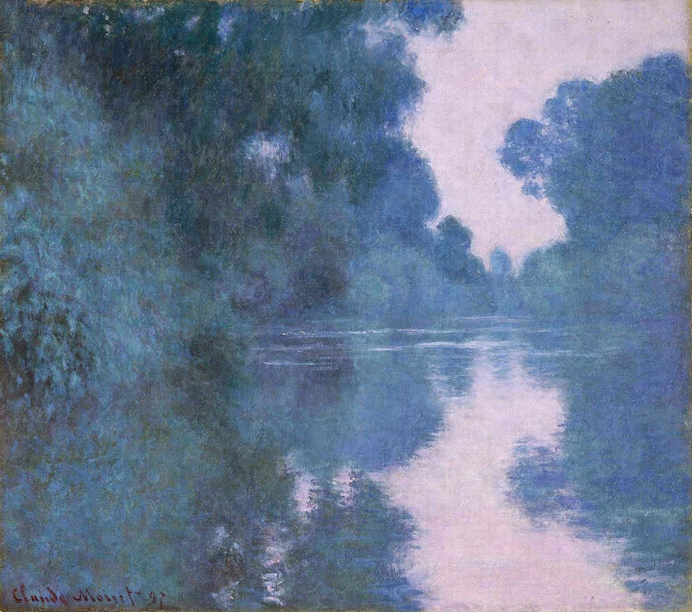 Morning on the Seine near Giverny 1897