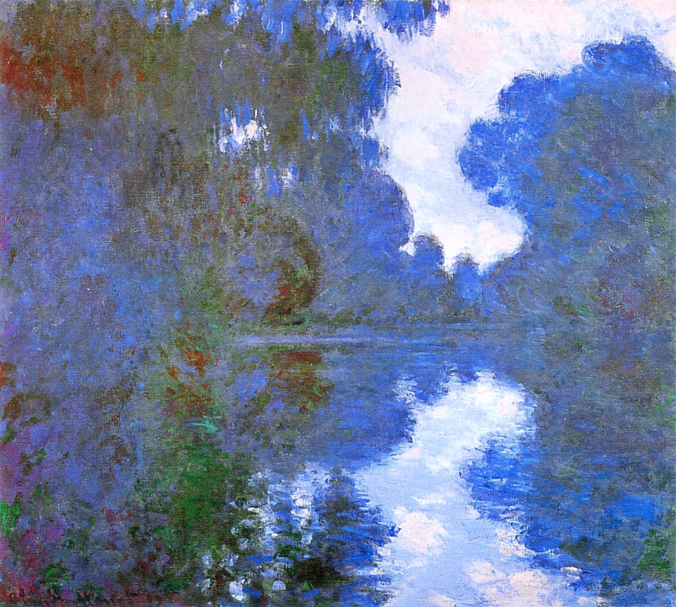 Morning on the Seine, Clear Weather 1897