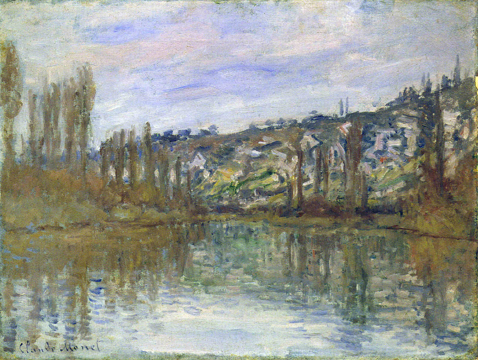 The Seine near Vetheuil 1897