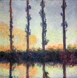 Poplars -Four Trees