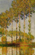 Poplars, Row in Autumn