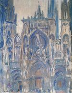 Rouen Cathedral, Study of the Portal