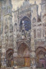 Rouen Cathedral, Grey Weather