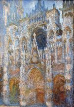 Rouen Cathedral, Magic in Blue