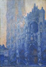 Rouen Cathedral, The Portal and the Tour d'Albane at Dawn