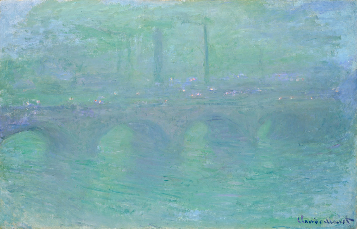 Waterloo Bridge, Dawn 1901
