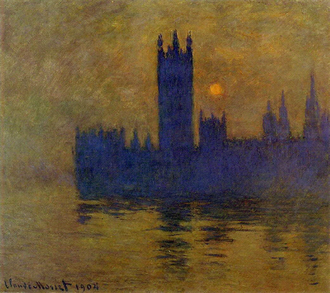 Houses of Parliament, Sunset 1904