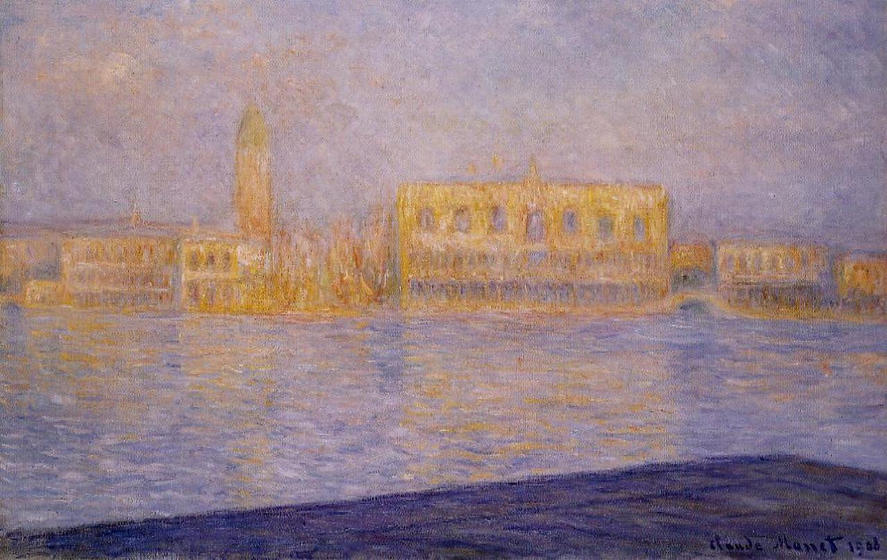 The Doges' Palace Seen from San Giorgio Maggiore 1908