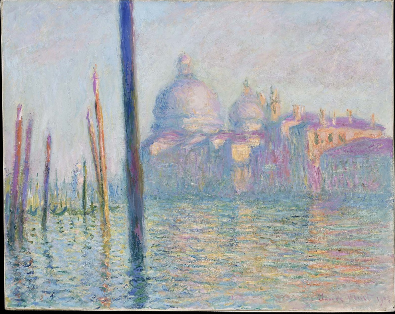The Grand Canal in Venice 1908