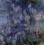 Water Lilies, Reflection of a Weeping Willows